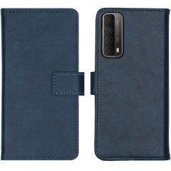 iMoshion Luxe Booktype Huawei P Smart (2021) - Donkerblauw