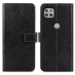 iMoshion Luxe Booktype Motorola Moto G 5G - Zwart