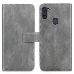 iMoshion Luxe Booktype Samsung Galaxy M11 / A11 - Grijs
