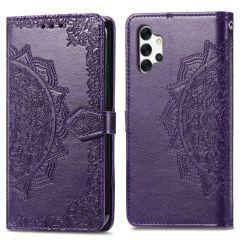 iMoshion Mandala Booktype Samsung Galaxy A32 (5G) - Paars