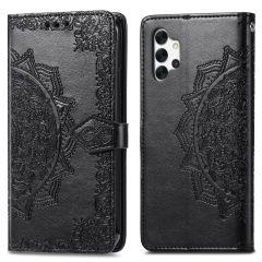 iMoshion Mandala Booktype Samsung Galaxy A32 (5G) - Zwart