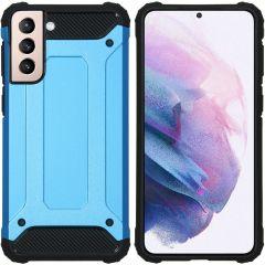 iMoshion Rugged Xtreme Backcover Galaxy S21 Plus - Lichtblauw