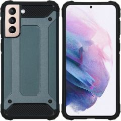 iMoshion Rugged Xtreme Backcover Galaxy S21 Plus - Donkerblauw