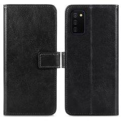 iMoshion Luxe Booktype Samsung Galaxy A02s - Zwart