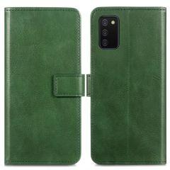 iMoshion Luxe Booktype Samsung Galaxy A02s - Groen