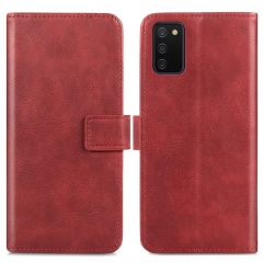 iMoshion Luxe Booktype Samsung Galaxy A02s - Rood