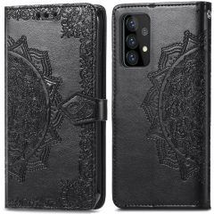 iMoshion Mandala Booktype Samsung Galaxy A52 (5G) / A52 (4G) - Zwart