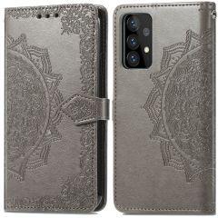iMoshion Mandala Booktype Samsung Galaxy A52 (5G) / A52 (4G) - Grijs