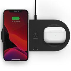 Belkin Dual Wireless Fast Charging Pads - 15W - Zwart