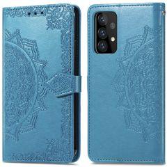 iMoshion Mandala Booktype Galaxy A52(s) (5G/4G) - Turquoise