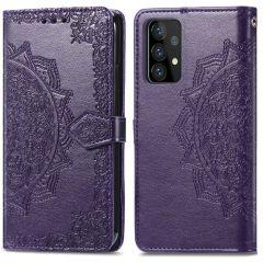 iMoshion Mandala Booktype Samsung Galaxy A72 - Paars