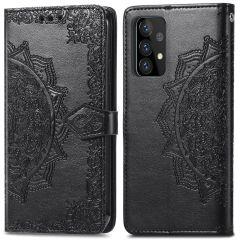 iMoshion Mandala Booktype Samsung Galaxy A72 - Zwart