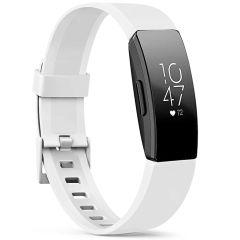iMoshion Siliconen bandje Fitbit Inspire - Wit