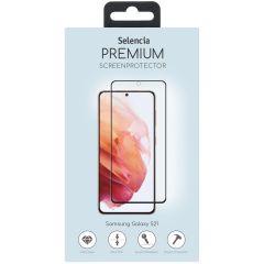 Selencia Gehard Glas Premium Screenprotector Samsung Galaxy S21