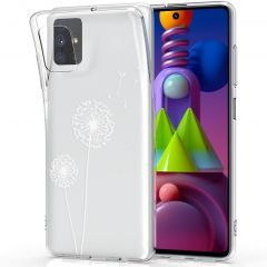 iMoshion Design hoesje Samsung Galaxy M51 - Paardenbloem - Wit