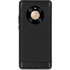 Brushed Backcover Huawei Mate 40 Pro - Zwart