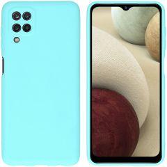 iMoshion Color Backcover Samsung Galaxy A12 - Mintgroen