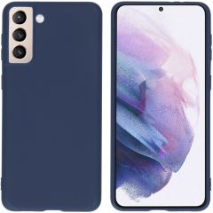 iMoshion Color Backcover Samsung Galaxy S21 Plus - Donkerblauw