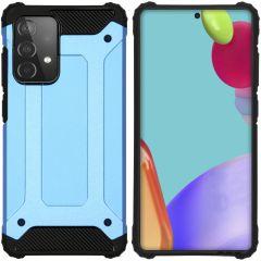 iMoshion Rugged Xtreme Backcover Galaxy A52 5G / A52 4G - Lichtblauw