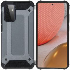 iMoshion Rugged Xtreme Backcover Samsung Galaxy A72 - Donkerblauw