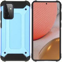 iMoshion Rugged Xtreme Backcover Samsung Galaxy A72 - Lichtblauw