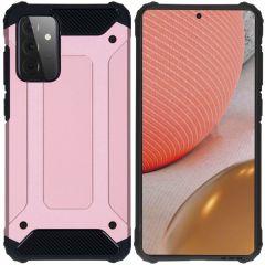 iMoshion Rugged Xtreme Backcover Samsung Galaxy A72 - Rosé Goud