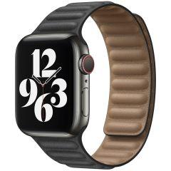 iMoshion Vegan lederen bandje Apple Watch Series 1-7 / SE-38/40mm