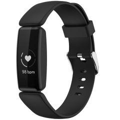 iMoshion Siliconen bandje Fitbit Inspire 2 - Zwart