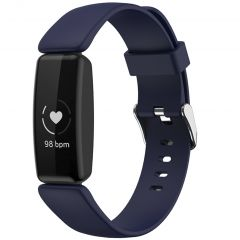 iMoshion Siliconen bandje Fitbit Inspire 2 - Donkerblauw