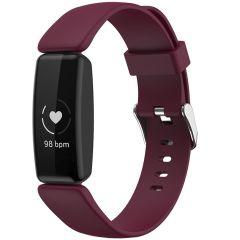 iMoshion Siliconen bandje Fitbit Inspire 2 - Donkerrood