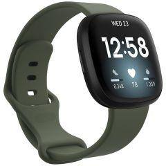 iMoshion Siliconen bandje Fitbit Sense / Versa 3 - Groen