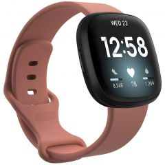 iMoshion Siliconen bandje Fitbit Sense / Versa 3 - Oranje
