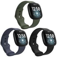 iMoshion Siliconen bandje Multipack Fitbit Sense / Versa 3