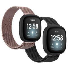 iMoshion Milanees Watch bandje Multipack Fitbit Sense / Versa 3