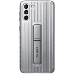 Samsung Protective Standing Backcover Galaxy S21 Plus - Grijs