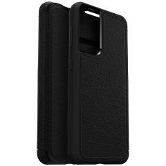 OtterBox Strada Booktype Samsung Galaxy S21 - Zwart