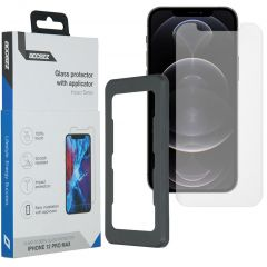 Accezz Glass Screenprotector + Applicator iPhone 12 Pro Max