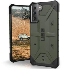 UAG Pathfinder Backcover Samsung Galaxy S21 Plus - Olive
