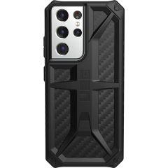 UAG Monarch Backcover Samsung Galaxy S21 Ultra - Carbon Fiber