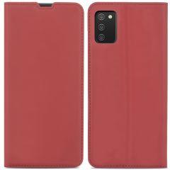 iMoshion Slim Folio Book Case Samsung Galaxy A02s - Rood