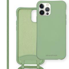 iMoshion Color Backcover met afneembaar koord iPhone 12 (Pro)