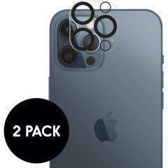 iMoshion Camera Protector Glas 2 Pack iPhone 12 Pro