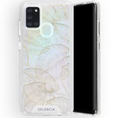 Selencia Zarya Fashion Extra Beschermende Backcover Galaxy A21s