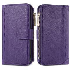 iMoshion Luxe Portemonnee iPhone SE (2020) 8 / 7 - Paars