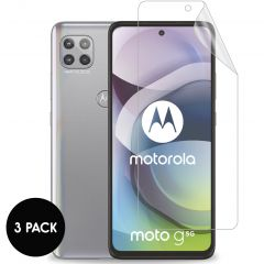 iMoshion Screenprotector Folie 3 pack Motorola Moto G 5G