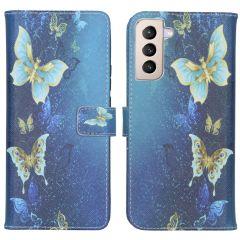 iMoshion Design Softcase Book Case Samsung Galaxy S21 Plus