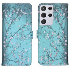 iMoshion Design Softcase Book Case Samsung Galaxy S21 Ultra
