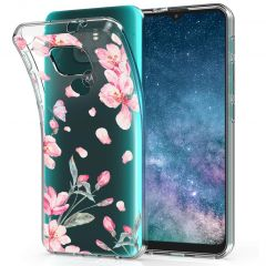 iMoshion Design hoesje Motorola Moto E7 Plus / G9 Play - Bloem - Roze
