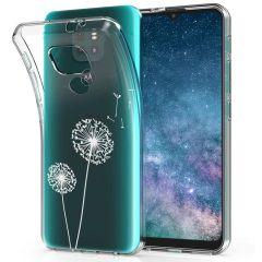 iMoshion Design hoesje Motorola Moto E7 Plus / G9 Play - Paardenbloem