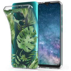 iMoshion Design hoesje Motorola Moto E7 Plus / G9 Play - Bladeren